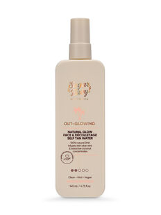 OUT-GLOWING Natural Glow Face & Décolletage Self Tan Water