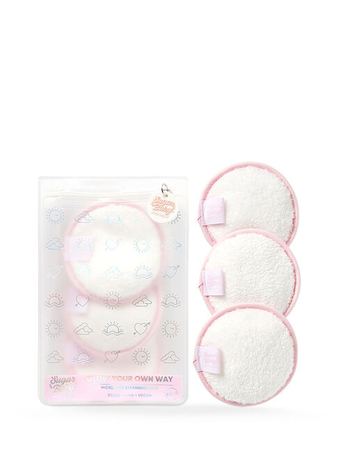 GLOW YOUR OWN WAY Luxe Micro-Fibre Cleansing Pads