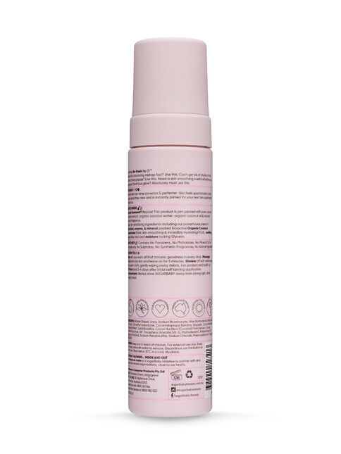 GLOW TO GO Faux Tan Eraser & Skin Primer Moisture Mousse
