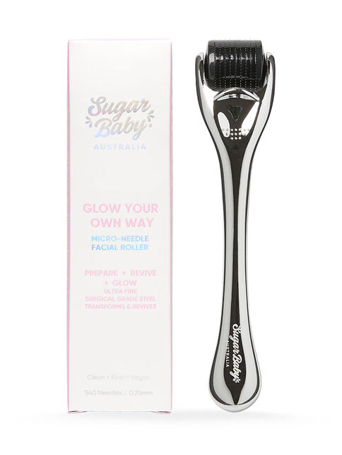 GLOW YOUR OWN WAY Micro-Needle Facial Roller